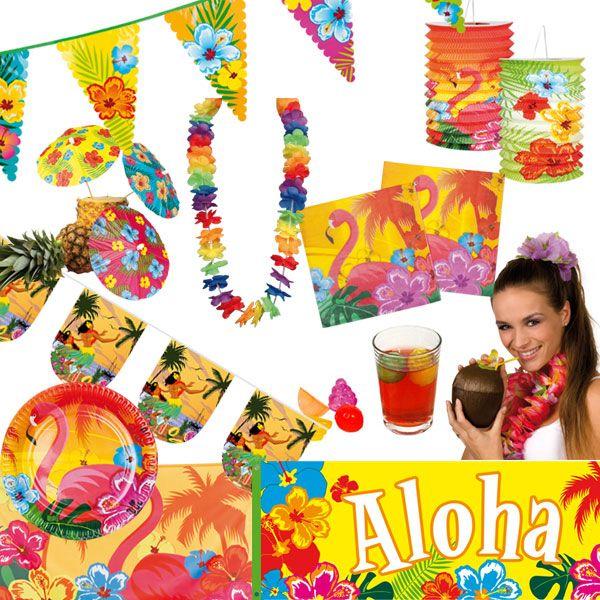 Deko Sommerfest details zu hawaii sommerfest deko poolparty sommer pool