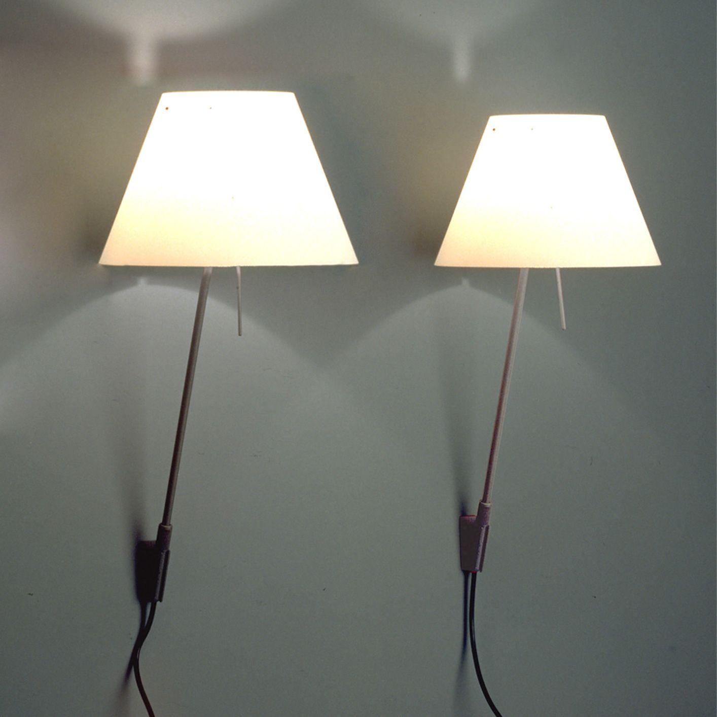 Schlafzimmer Hänge Lampe: Luceplan Costanzina D13 A.pi. Wandleuchte