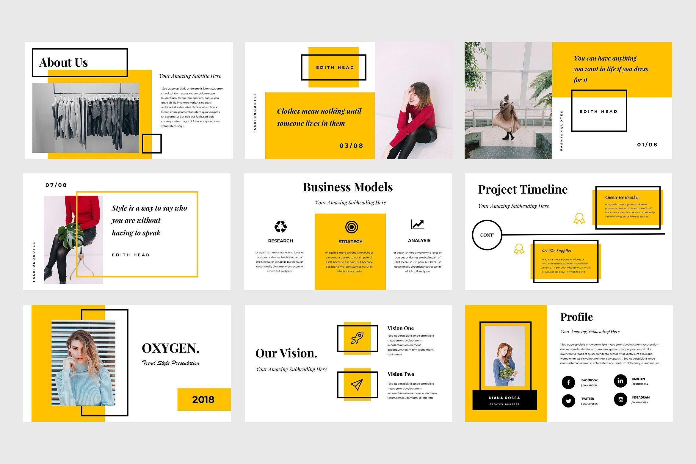Oxygen Powerpoint Template Powerpoint Presentation Design Powerpoint Design Templates Presentation
