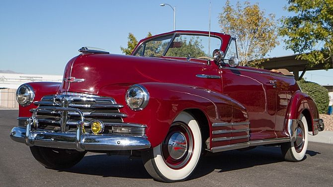 1948 Chevrolet Fleetmaster Convertible Presented As Lot R4 At Las