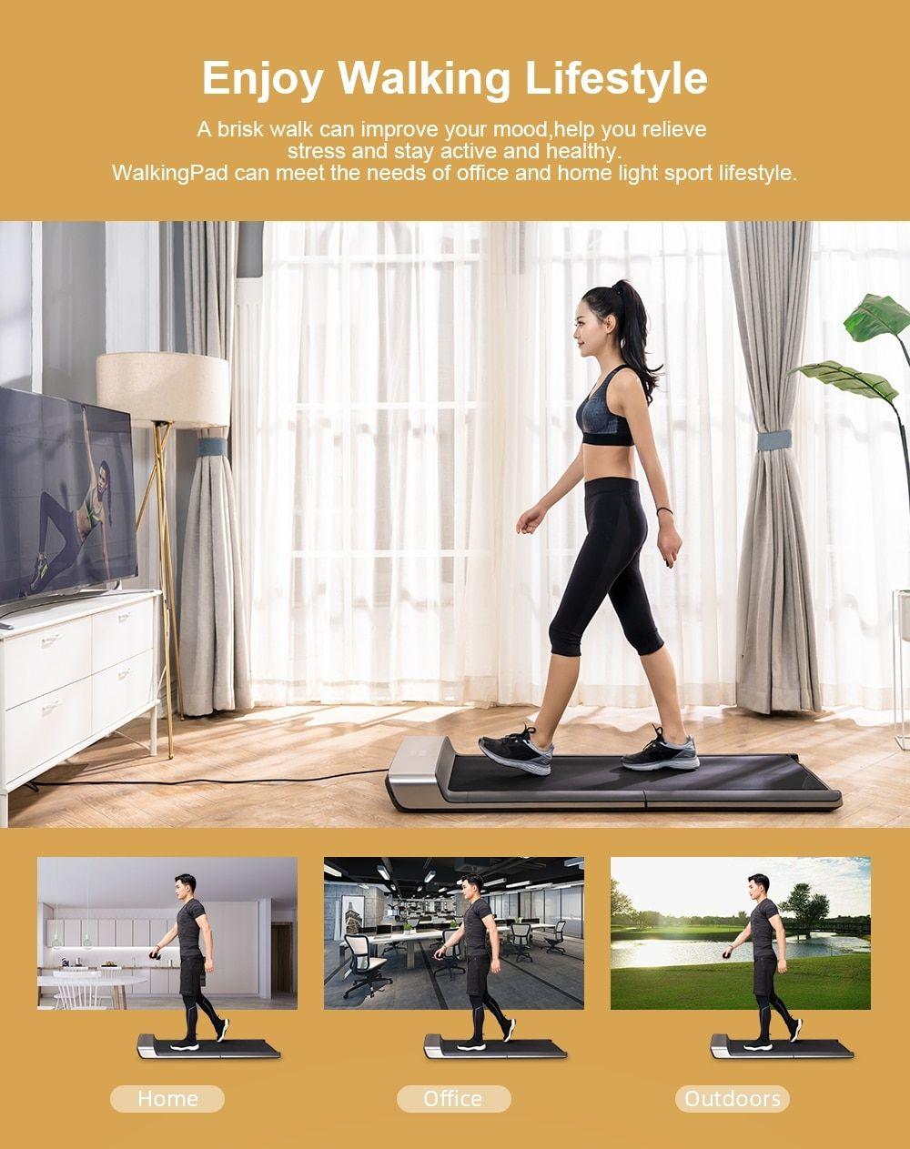 Portable WalkingPad A1 Smart Electric Foldable Treadmill