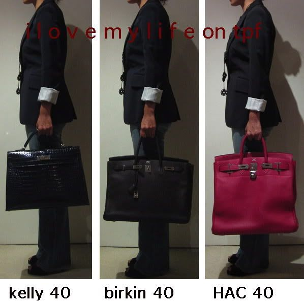 Size Reference Guide. PICS ONLY - Page 3 - PurseForum Hermes Bolide b85f3758e8ab3
