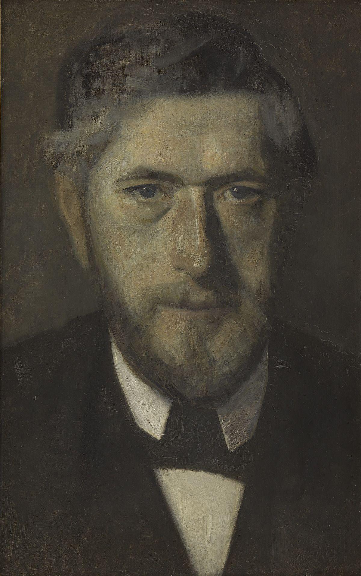 J.F. Willumsen af Vilhelm Hammershøi, National Gallery of