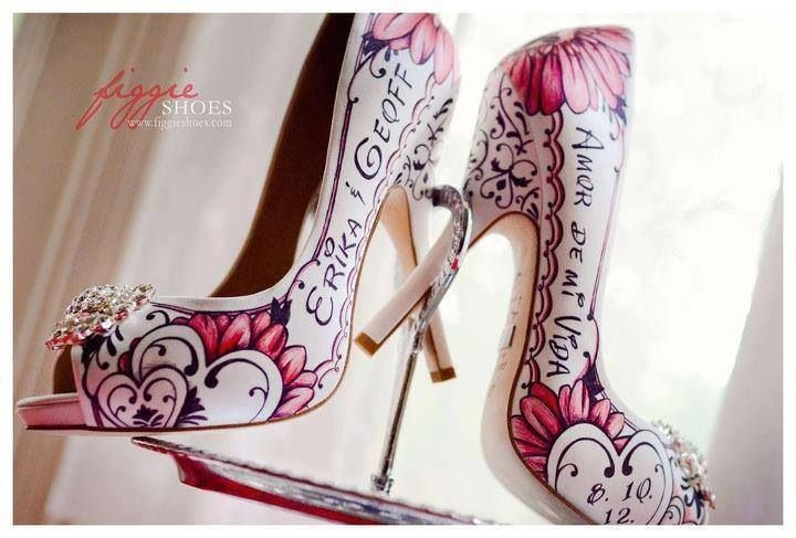 Hand Painted Wedding Shoes Painted Shoes Hand Painted Shoes Decorated Shoes
