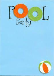 Bildergebnis Fur Poolparty Einladung Zum Ausdrucken Einladung Kindergeburtstag Pool Party Ideen Geburtstagseinladungen Zum Ausdrucken