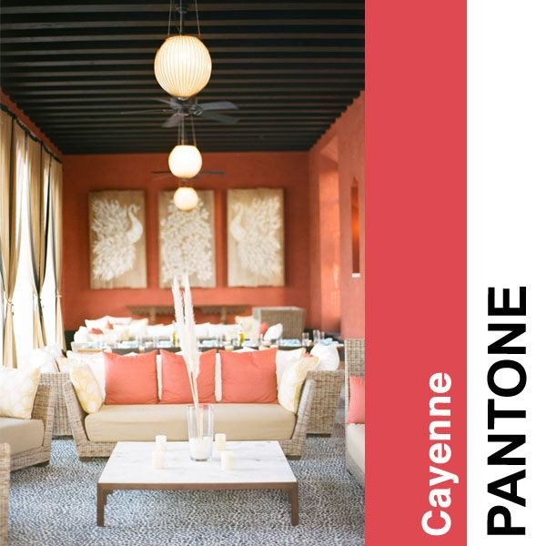 Pantone Color Story Part I - Houston Interior Designers | Interior Decorators | Pamela Hope Design #cayenne #color #pantone