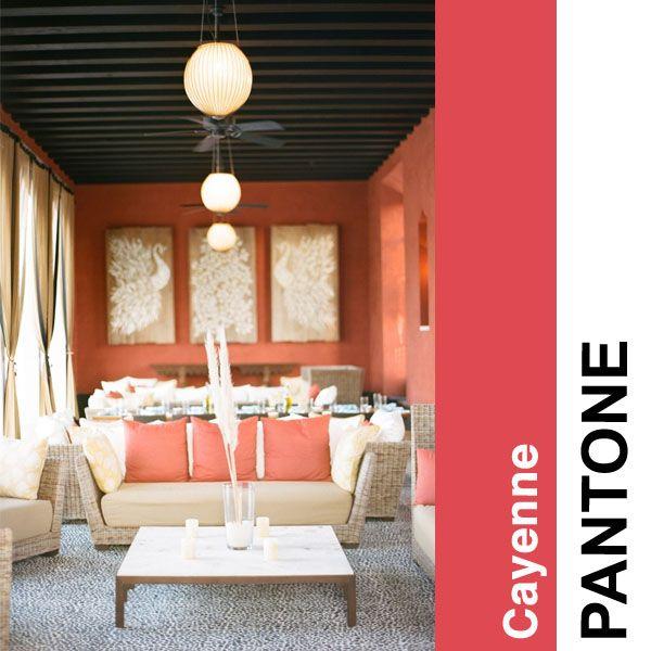 Pantone Color Story Part I - Houston Interior Designers   Interior Decorators   Pamela Hope Design #cayenne #color #pantone