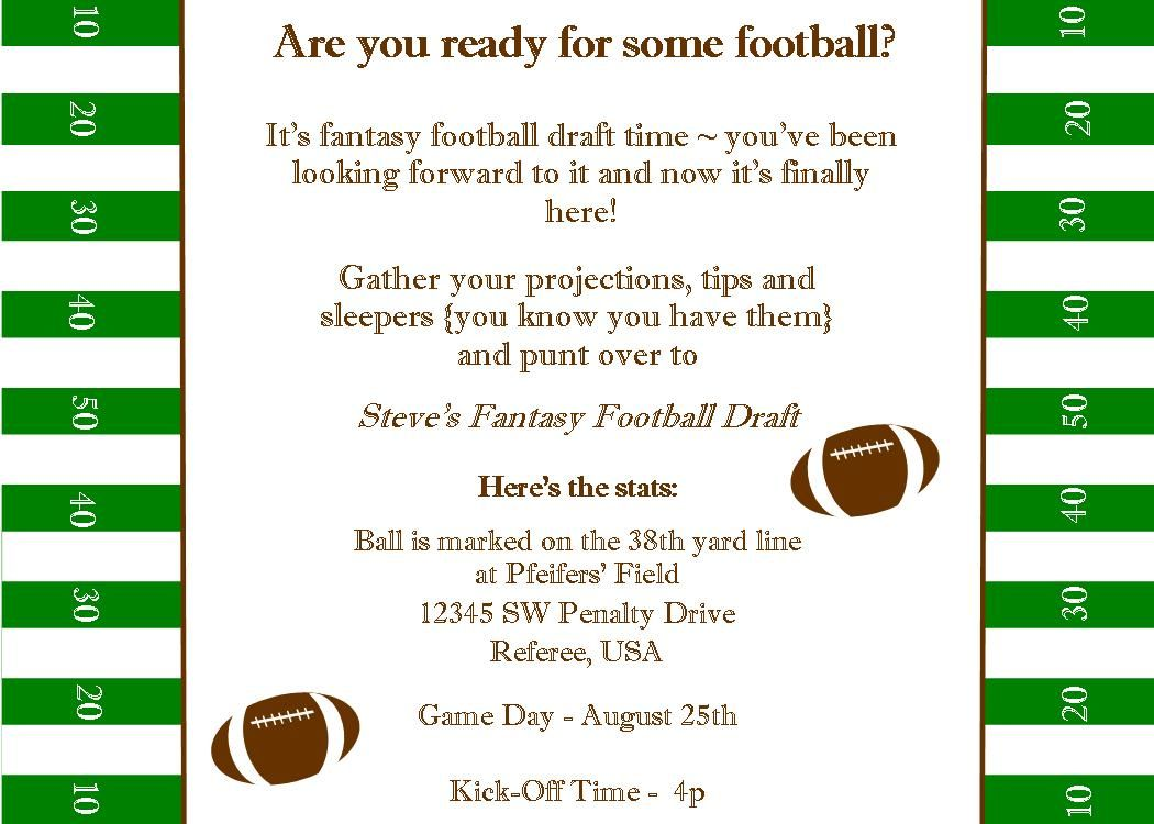Pin By Team Direct Impact On Superbowl Party Ideas Football Draft