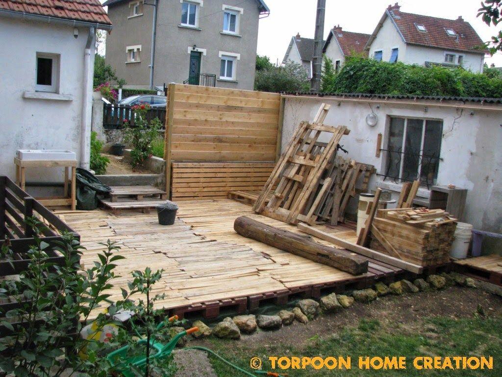 Faire Terrasse Pas Cher faire une terrasse pas cher | terrasse palette, terrasse et