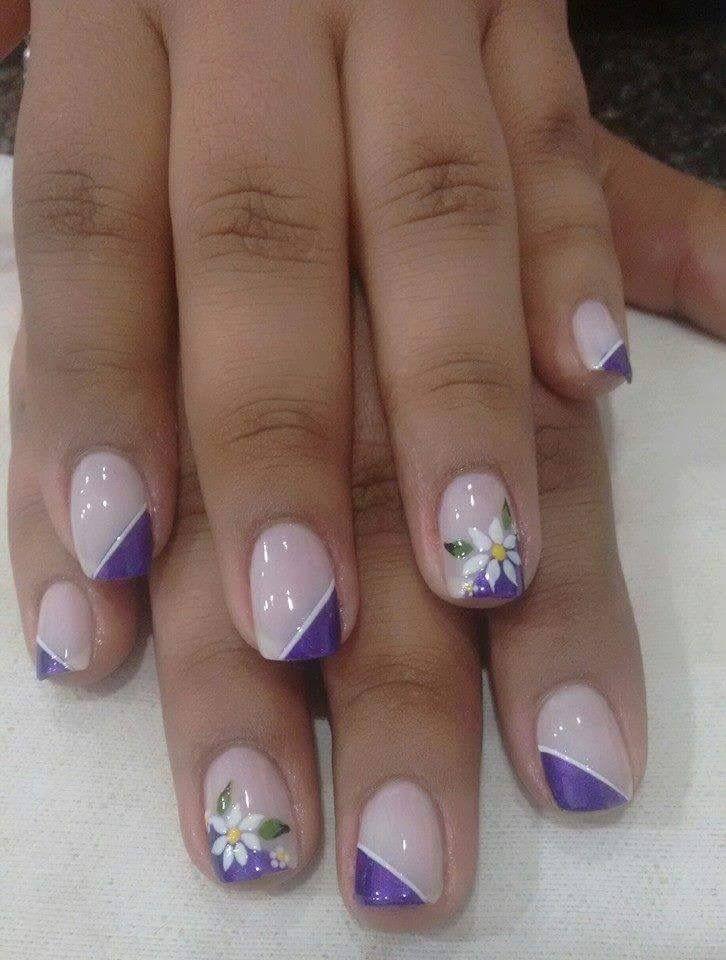Pin De Zulay En Unas Nail Designs French Nails Y Nail Art Designs