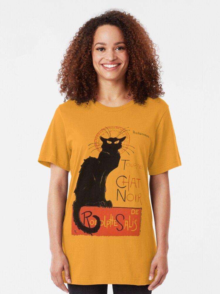 Tournee Du Chat Noir After Steinlein Essential T Shirt By Taiche Tournee Du Chat Noir Chat Noir Tshirt Designs