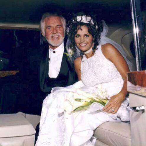 Kenny Rogers & his wife Wanda!! | Flower girl dresses ...