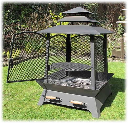 Chinese Lantern Barbecue Fire Pit Bbq Firepit