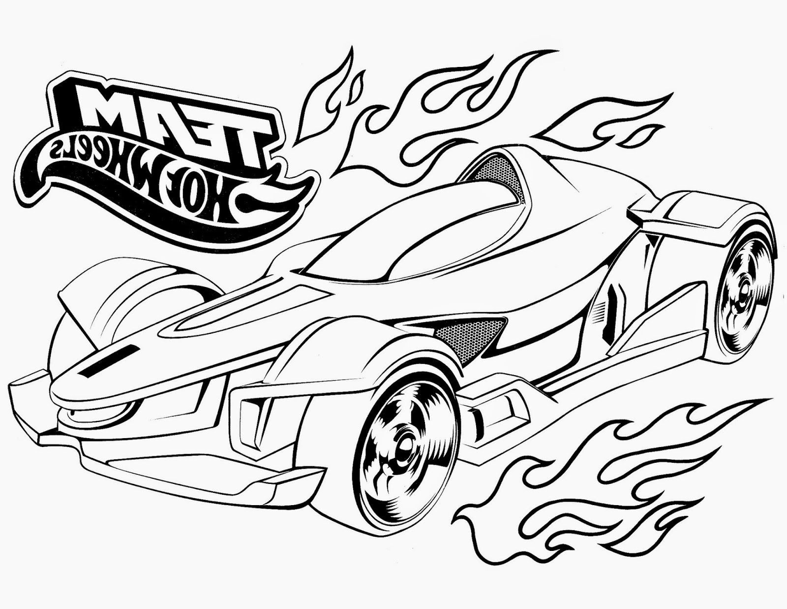 hot wheel coloring pages # 23