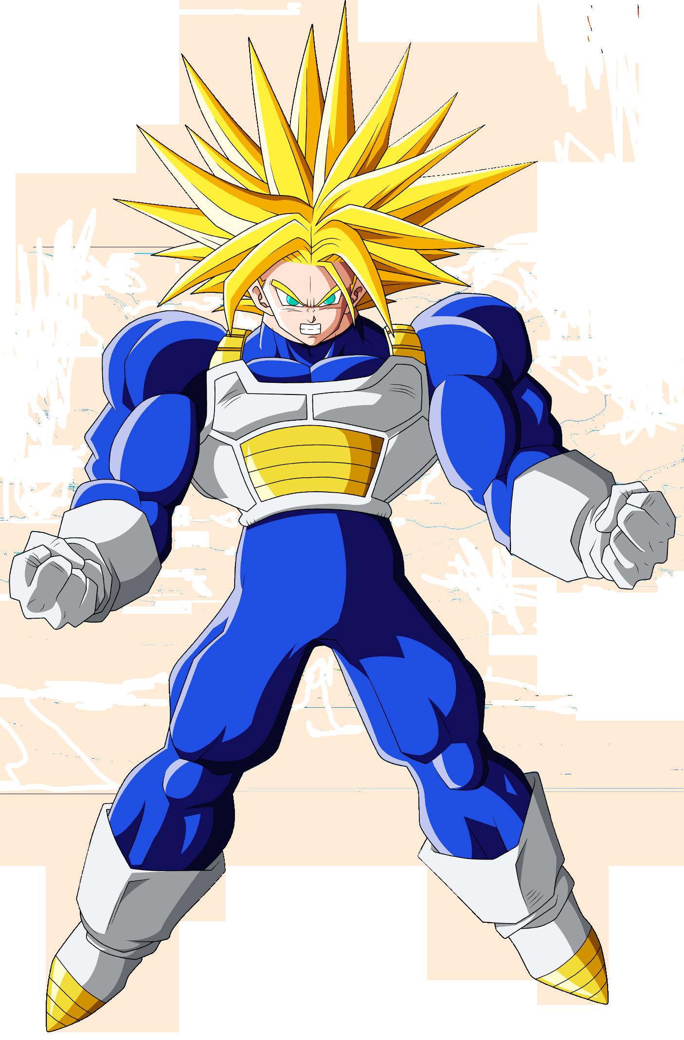 Trunks del futuro alternativo t cnicas y habilidades - San goku super saiyan 5 ...