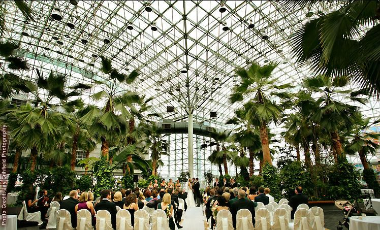 Crystal Garden At The Navy Pier Is One Of Most Unique Wedding Venues In Chicago