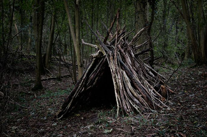 ELLIE DAVIES\u0027 WOODLAND DWELLINGS Haunted houses, Halloween parties - haunted forest ideas for halloween