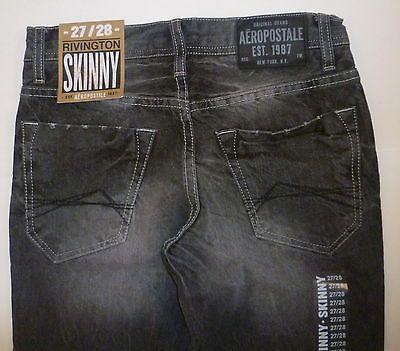 Mens Aeropostale Rivington Slim Skinny Low Rise Gray Wash Jeans Nwt 0501 Armani Jeans Men Denim Pocket Denim Wear