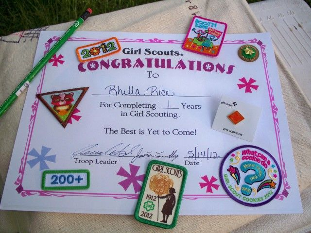 Girl Scout Ceremony Invitation Template And Their Skit About