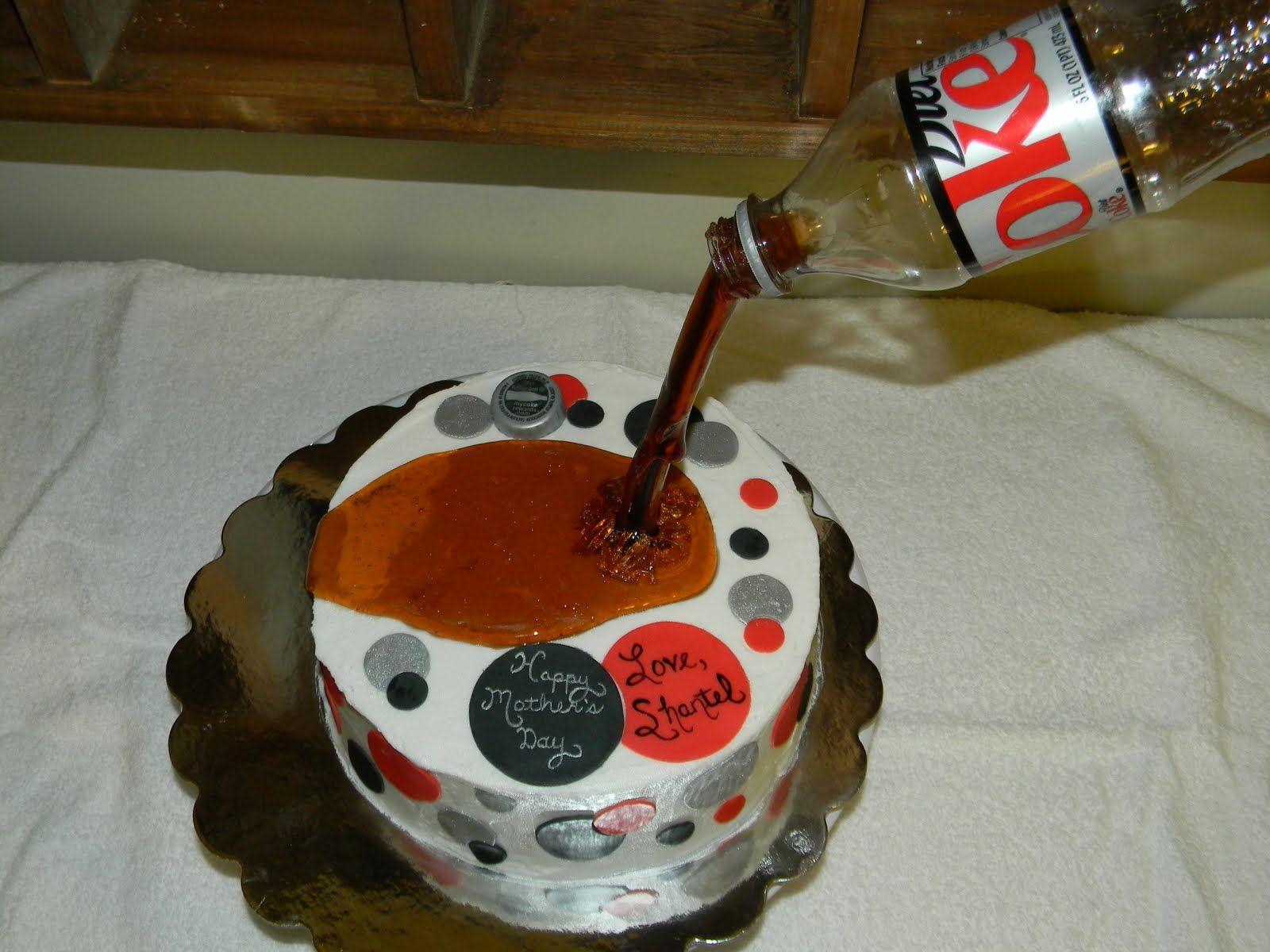 Diet Coke Cake From Scratch