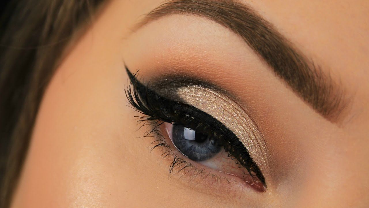 Drugstore Christmas Party Makeup   Nude Glam