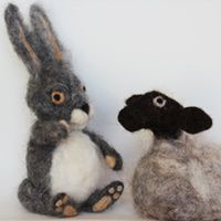 The Little Grey Sheep | Well Manor Farm | Yarn and Wool Online UK