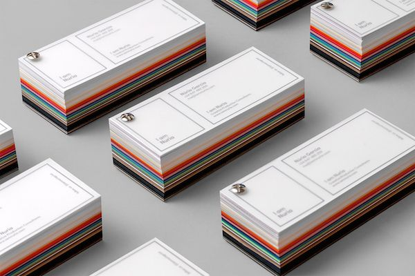 Creative colourful tear off business cards inspired by pantone creative colourful tear off business cards inspired by pantone swatch books designtaxi colourmoves