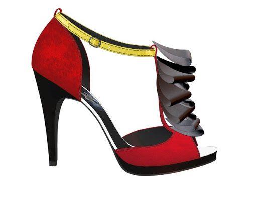 cc98b62c07d Captain hook inspired sandel Check out my shoe design via  Clinton  Carbonell Carbonell Carbonell Carbonell