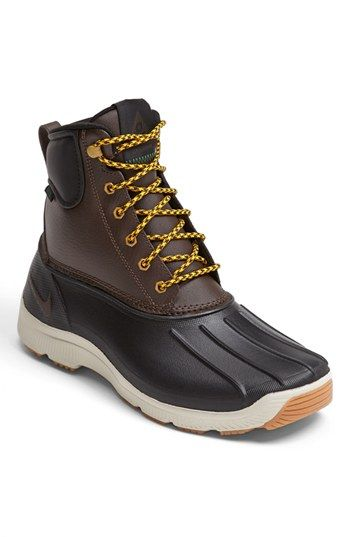 Nike 'Solarsoft Ripplebrook' Rain Boot (Men) available at ...