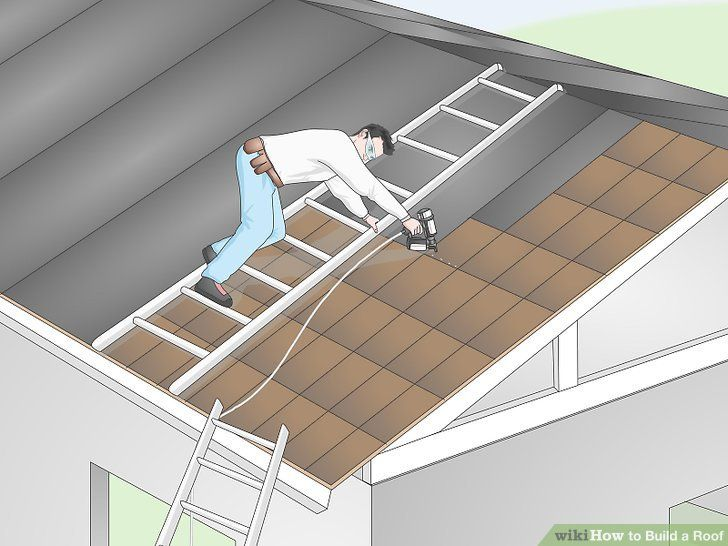 How to Build a Roof in 2020 | Building roof, Shed plans, Shed
