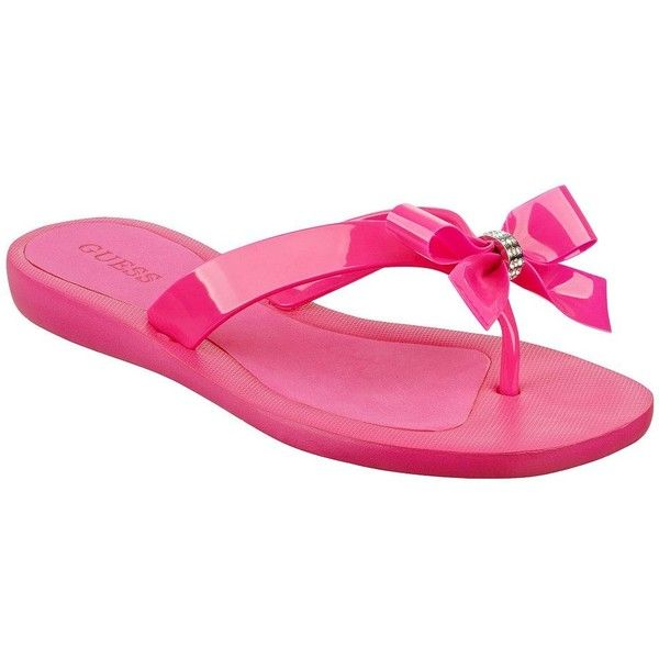 b61790f8cb37fb Guess Women s Tutu Flip Flops ( 35) ❤ liked on Polyvore featuring shoes