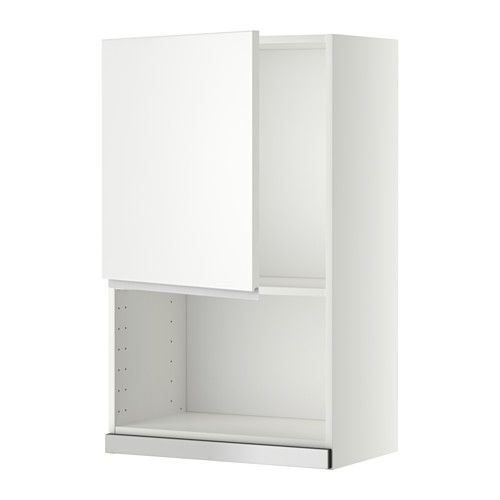 METOD Wall cabinet for microwave oven IKEA You can customise spacing - fixation meuble haut cuisine ikea