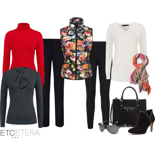 """""""Travel Capsule Wardrobe - Etcetera Fall Collection"""" by biseletcetera on Polyvore"""