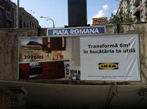 IKEA ad [June 2013, Bucharest]