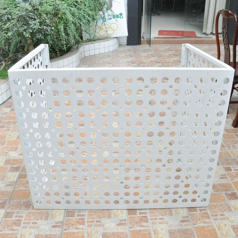 punched hole design air conditioner cover Air