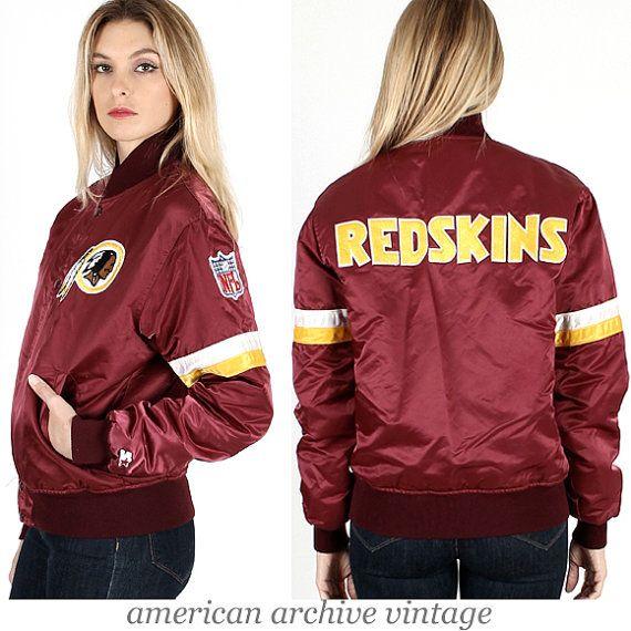 Vintage Redskins!!!! Vintage 80s Washington REDSKINS Starter Jacket ... 30b908329059