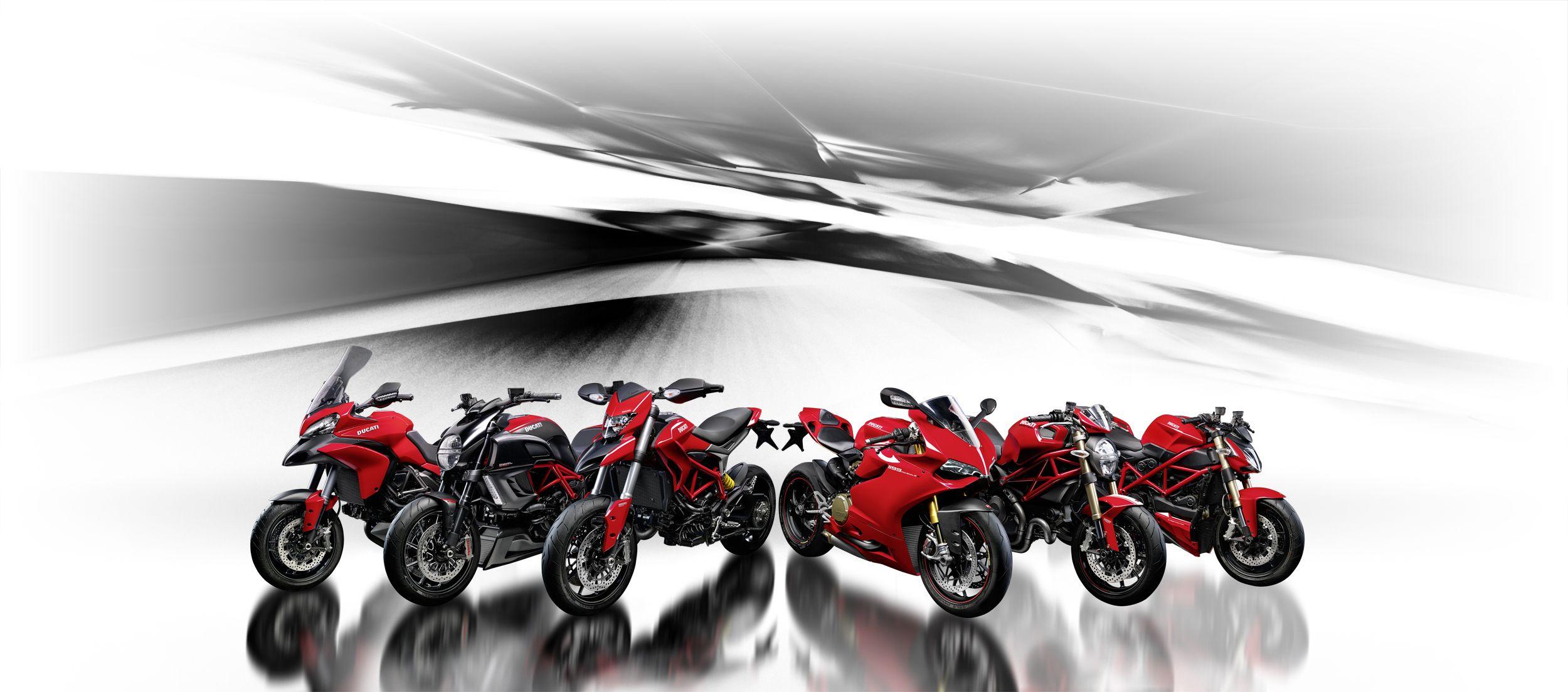 The Current Ducati Model Range In 2013 Ducati Decisions