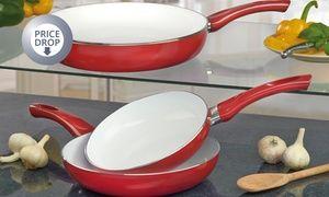 Groupon - Cooks Professional Three-Piece Ceramic Pan Set for £14.99 (81% Off). Groupon deal price: £14.99