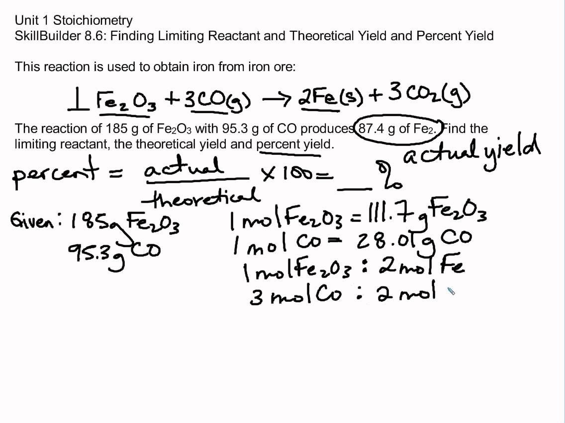 Updated Learning How To Find The Limiting Reactant