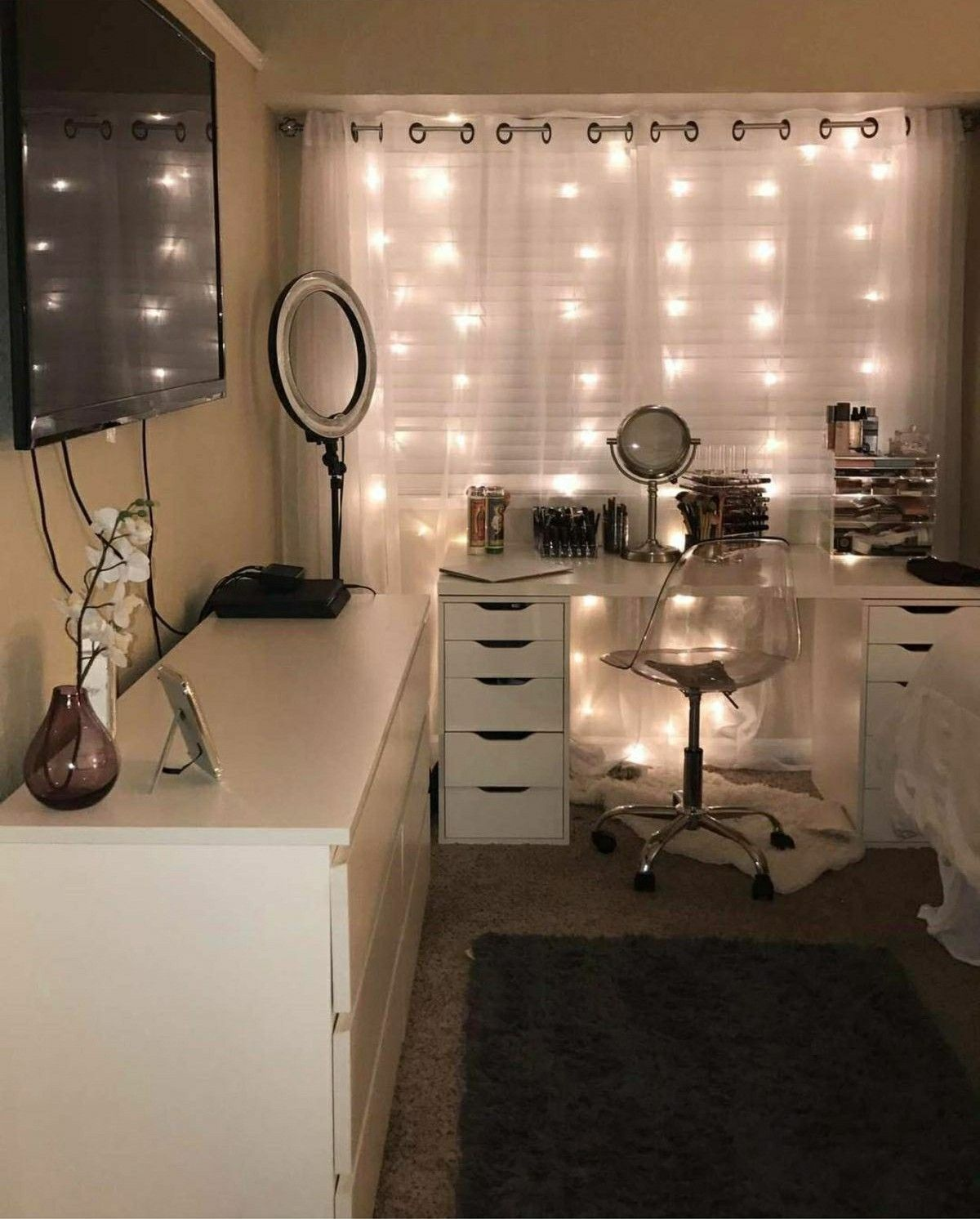 Diy Vanity Area Pin On Home And Decor
