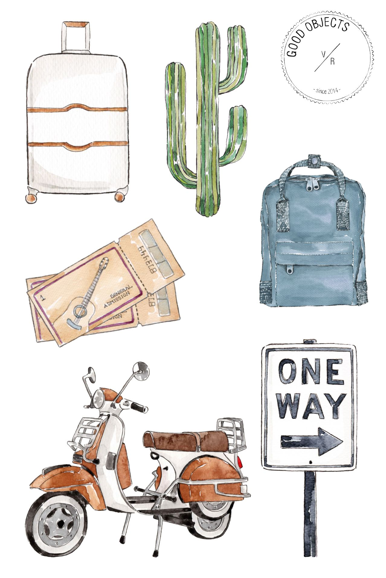 90 Instagram Highlight Covers TRAVEL Pack