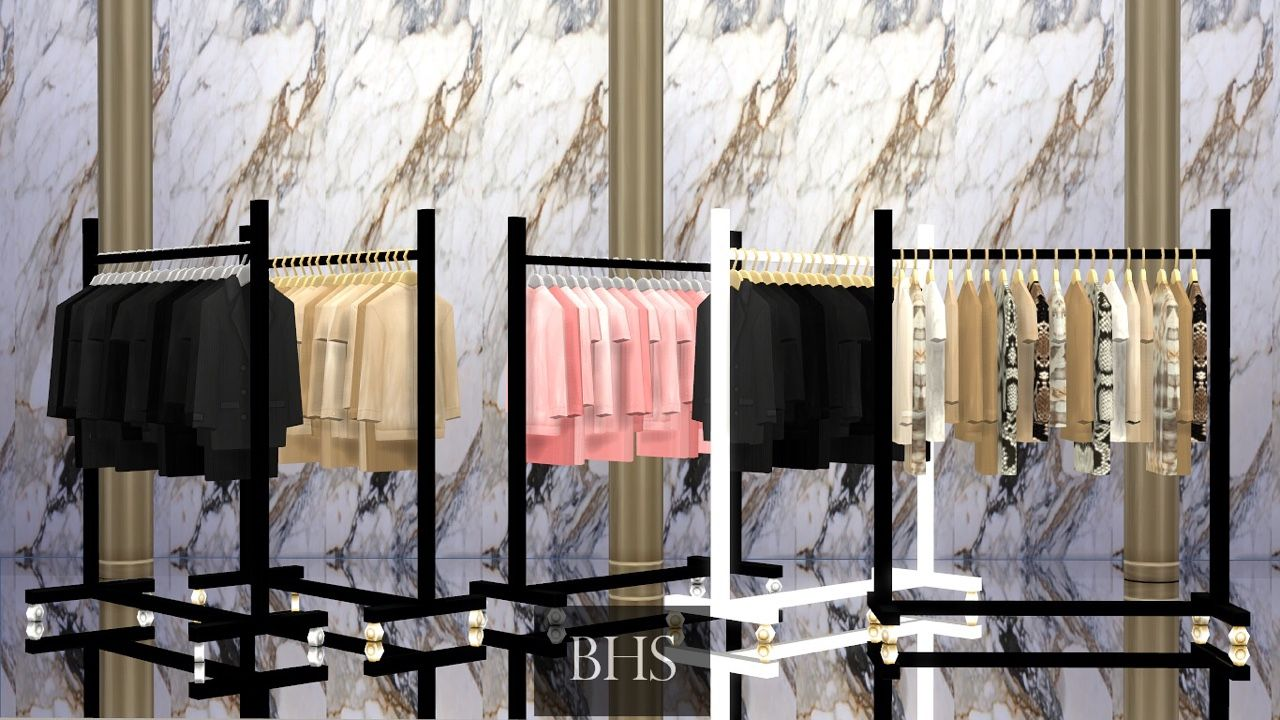 The Glam Clothing Rackcomes In 26 Colors 6 Main Clothing