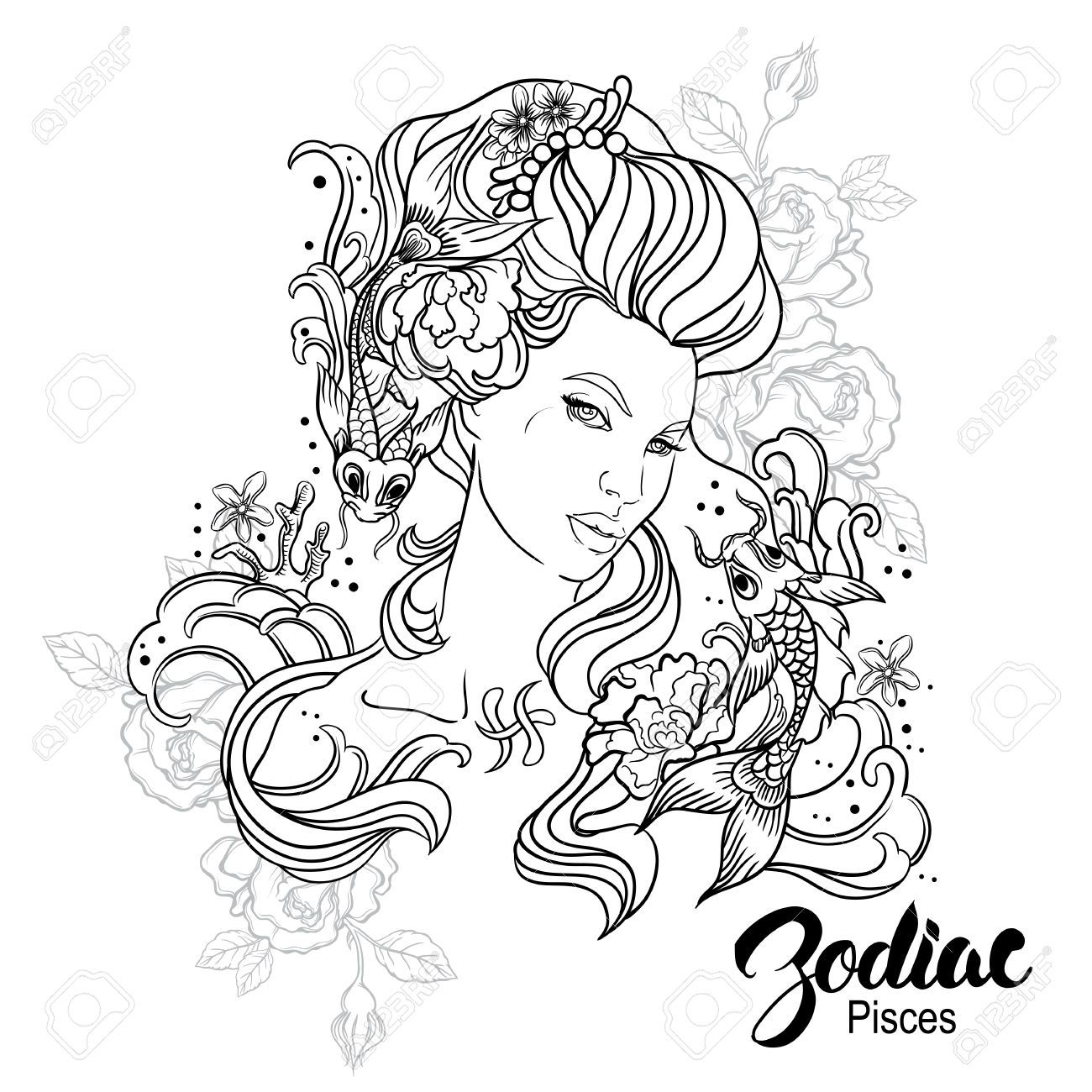 Pin by leanne maher on crazy hair colouring pages pinterest