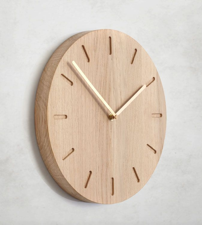 WANDUHR MODERN HOLZ wanduhren modern design | My Home Is My Castle ...
