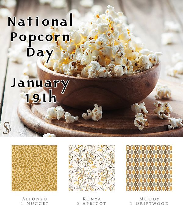 January 19th is National Popcorn Day! Did you know that unpopped