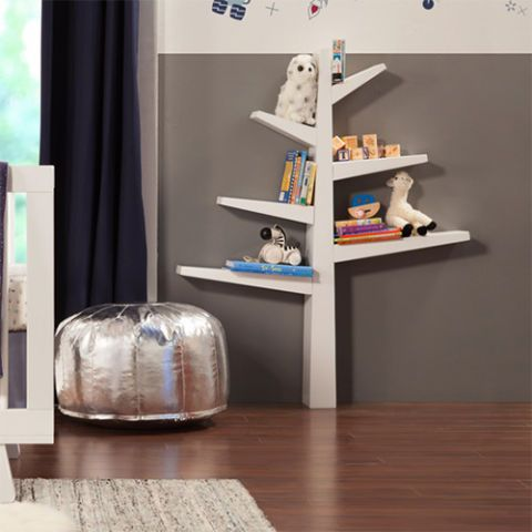 $169 BUY NOWThis tree bookshelf is a clever place to display your newborn's  first library.