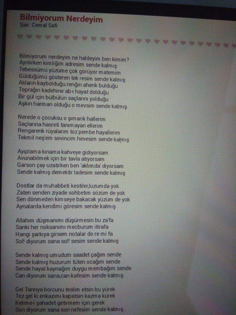 Birgul Ankara Adli Kullanicinin Siir Panosundaki Pin Siir
