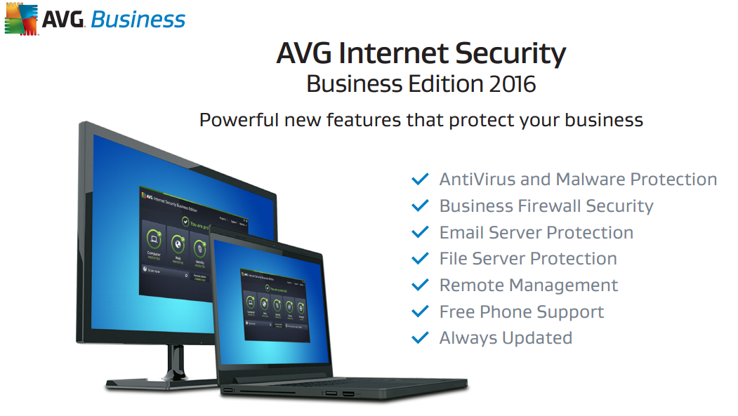 avg business edition vs internet security