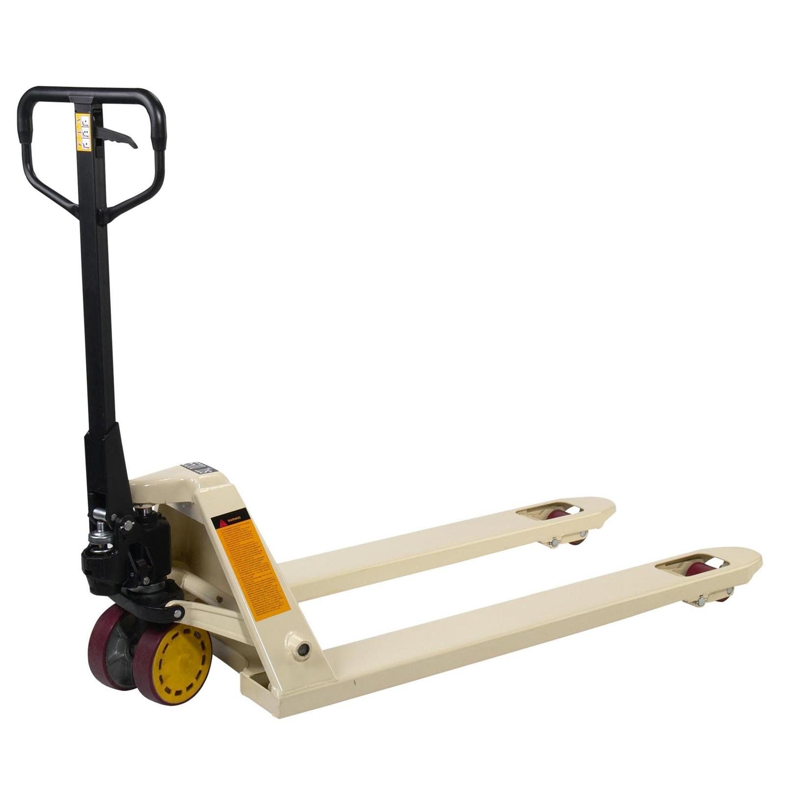 Wesco CP1 5500 lb Capacity Pallet Jack-6 Fork Sizes