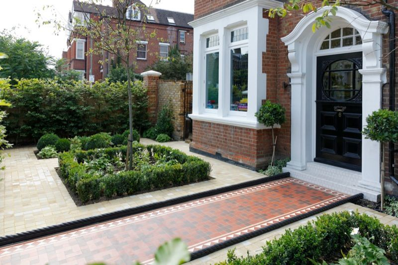 victorian front gardens google search